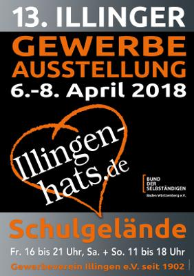 Illinger Gewerbeschau 6. - 8. April 2018