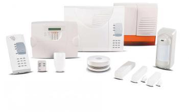 DAITEM D16 Funk-Alarmsystem für Wohnungen und Häuser sowie kleine Gewerbebetriebe und Ladengeschäfte