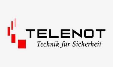 TELENOT-Logo - Zuverlässige kabelgebundene Alarmanlagen